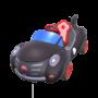 Black Cat Cruiser from Mario Kart Tour