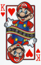 The King of Hearts card from the NAP-02 deck.