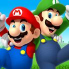 Thumbnail of a Mario and Luigi wallpaper which celebrates Siblings Day