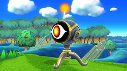 The Killer Eye from Kid Icarus: Uprising in Super Smash Bros. for Wii U.
