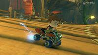 Sad Villager, in Mario Kart 8.