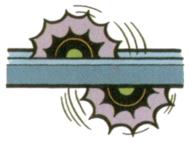Artwork of Wakiri, from Super Mario Land 2: 6 Golden Coins.