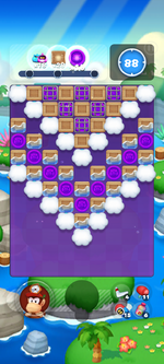 Stage 16C from Dr. Mario World