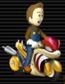 Flame Runner from Mario Kart Wii