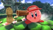 Kirby with Diddy Kong's ability