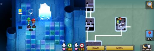 Location of the first hidden block in Joke's End.