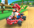 The icon of the Yoshi Cup challenge from the Holiday Tour in Mario Kart Tour