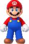 Artwork of Mario from New Super Mario Bros. U Deluxe