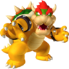 Bowser's artwork from New Super Mario Bros. 2