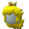 """The """"Princess Peach Wig"""" Mii headwear"""