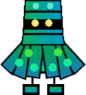 Sprite of a Ninjohn from Super Paper Mario.