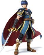 Artwork of Marth, from Super Smash Bros. for Nintendo 3DS / Wii U.
