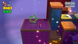Switch Shock Circus in the game Super Mario 3D World