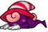 Vivian after getting defeated.