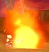 Volcanic debris from Mario Kart Wii