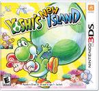 North American box cover of Yoshi's New Island.