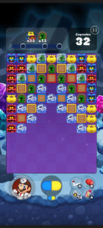 Stage 492 from Dr. Mario World