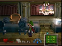 The Tea Room from Luigi's Mansion