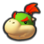 Bowser Jr.'s head icon in Mario Kart 8 Deluxe.