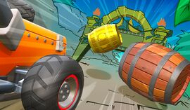 Barrel Temple course icon from Mario Kart Live: Home Circuit