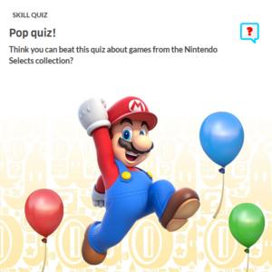 Icon for Nintendo Trivia Quiz