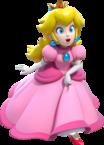 Solo artwork of Princess Peach from Super Mario 3D World.