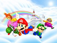 :File:MP1 Mario's Rainbow Castle Artwork.png