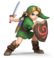 Young Link in Super Smash Bros. Ultimate
