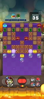 Stage 410 from Dr. Mario World since version 2.0.0