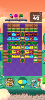 Stage 593 from Dr. Mario World