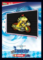 The Sneakster card from the Mario Kart Wii trading cards
