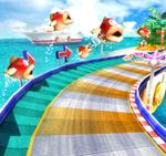 Mario Beach from Mario Kart Arcade GP 2