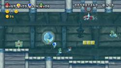 New Super Mario Bros. U level.