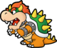 Paper Mario: The Thousand-Year Door Artwork: Bowser