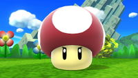 Poison Mushroom, as seen in the Wii U and 3DS versions