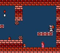 Screenshot of Mouser from Super Mario Bros. 2