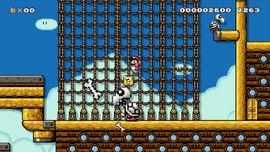 Big Dry Bones' Pirate Ship level in Super Mario Maker