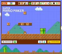 Super Mario Maker Wallpaper Maker Gameplay