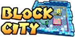 The logo for Block City, from Mario Kart Double Dash!!.
