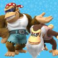 Option in a Play Nintendo opinion poll on which pair of Kongs to play as in the Nintendo Switch version of Donkey Kong Country: Tropical Freeze. Original filename: <tt>1x1_DKCTFSwitchPoll1_Funky_Cranky_v01_KTClvnr.6ef5f3152e16d0ba.jpg</tt>