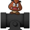 Goomba and Bullet Bill Cut-in PD-SMBE.png