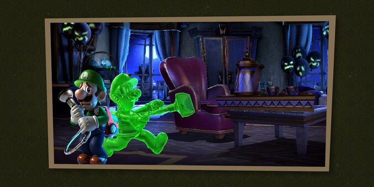 Picture shown with the first question in Luigi's Mansion 3 Trivia Quiz