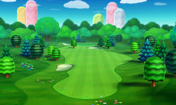 Hole 1 of the Forest Course