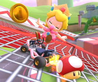 The icon of the Dry Bones Cup challenge from the Summer Festival Tour and the Dry Bowser Cup challenge from the 2021 Yoshi Tour in Mario Kart Tour.