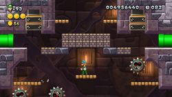 Smashing-Stone Tower from New Super Luigi U