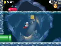 World 8-2 (New Super Mario Bros.) in the game New Super Mario Bros..