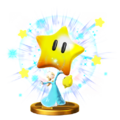 Power Star's trophy render from Super Smash Bros. for Wii U
