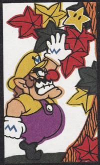 First card of October in the Club Nintendo Hanafuda deck.