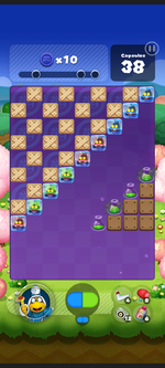 Stage 558 from Dr. Mario World