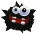 Artwork of a Fuzzy from Super Mario Galaxy 2.